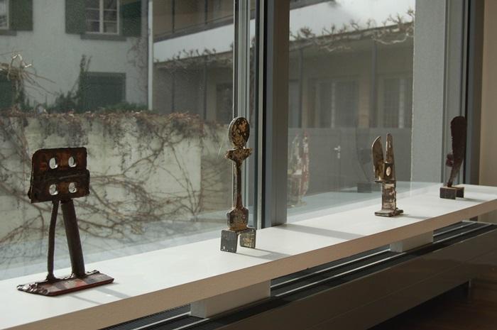 Figuren 2,3,4,5, 2007, Stahl, Höhe 15-18cm (Foto: Stefanie Eins)