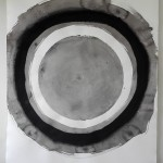 Circle 6, 2012, Ink on Paper, 107 x 78cm