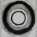 Circle 7, 2012, Ink on Paper, 107 x 78cm