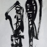 Pair 2, 2004, Ink on Paper, 68 x 96cm