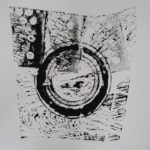 Circle 6, 2010, Ink on Paper, 76 x 57cm