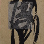 Figure VI, 2004, Mixed Media on Paper, 7,5 x 9,5cm