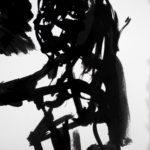 Figure I, 2011, Ink on Paper, 24 x 16cm