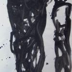 Pair I, 2012, Ink on Paper, 42 x 29,5cm