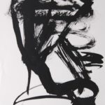 Figure 31, 2004, Ink on Paper, 32 x 19cm