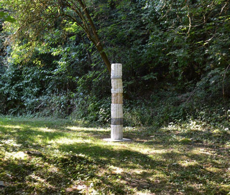Column 2020, Stone, H 192cm,W 30cm
